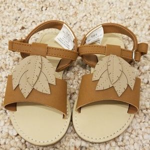Gymboree Brown Baby Girl Size 6 Sandals